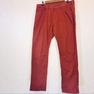 Old Navy Slim Leg Soft Touch Orange Jeans - #1022